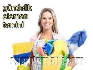 günlük temizlik personeli temini